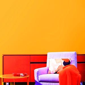 オレンジの壁紙